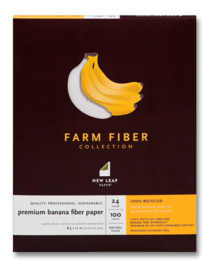 Banana Fiber and Palm Fiber Papers